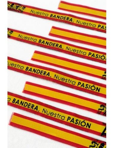 Pulsera Nuestra Bandera, Nuestra Pasión