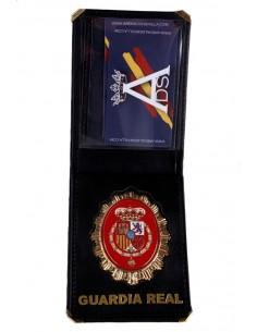 CARTERA PLACA GUARDIA REAL FELIPE VI