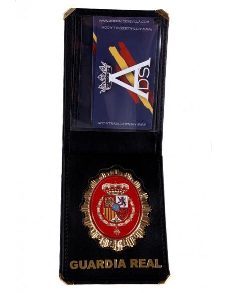Cartera Placa Guardia Real Felipe VI