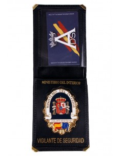 Spanish Bodyguard Badge Wallet