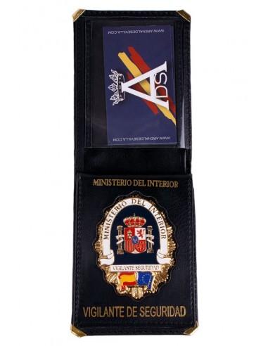 Spanish Bodyguard Badge Wallet