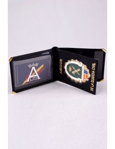 Spanish Civil Guard Badge Wallet