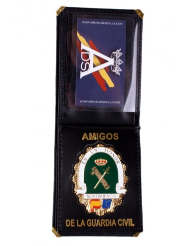 Spanish Civil Guard Badge Wallet