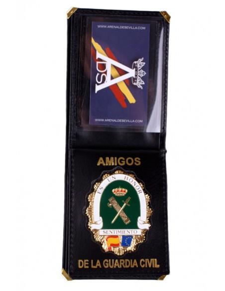 Civil guar friends plaque wallet