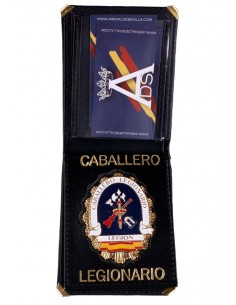 Caballero Legionario Badge Wallet