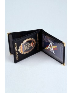 Yatch Captain Badge Wallet
