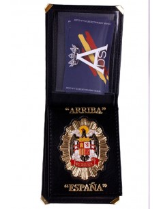"""Arriba España"" Badge Wallet"