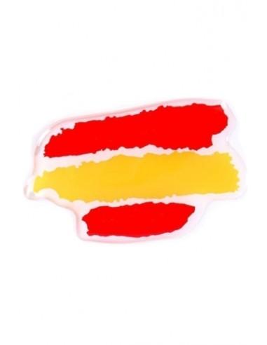 Pegatina Bandera España Manchas Relieve