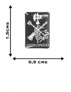 Pegatina Relieve Mini Legión 3 unidades
