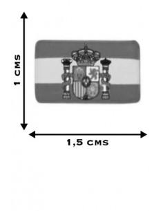 Spanish Flag Stickers Mini