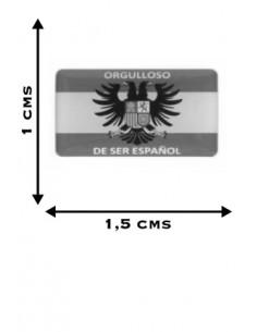 Pegatinas Mini Orgulloso de Ser Español