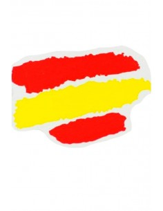 "Spanish flag sticker ""paint"""