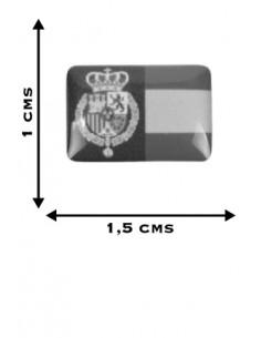 Pegatina Relieve Mini Felipe VI
