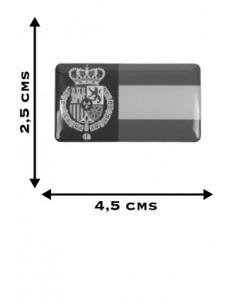 Felipe VI Spanish Flag Sticker