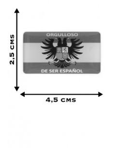 Orgulloso de Ser Español Flag Sticker