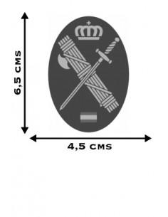 Spanish Civil Guard Oval Sticker