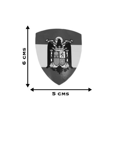 Pegatina Águila de San Juan Triangular