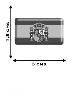 Pegatina Bandera España Actual x2