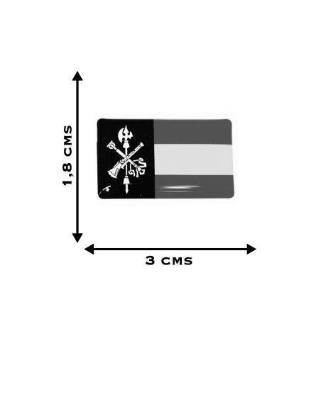 Pegatina Relieve Legión x2