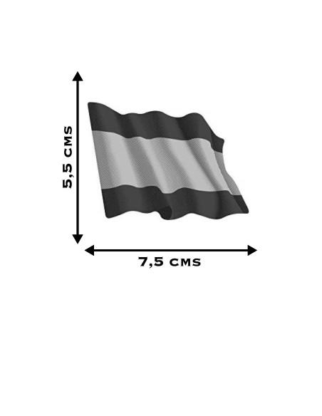 bandera España sin escudo pegatinas