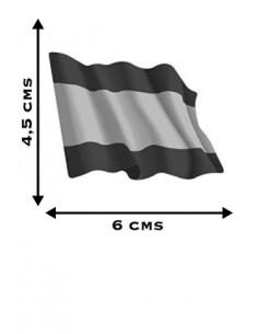 Pegatina Bandera España Ondeante