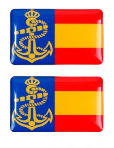 Pegatina Armada Relieve 2 Unidades