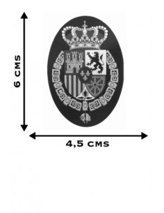 Felipe VI Emblem Oval Sticker