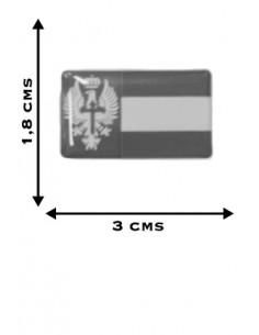 Pegatina Ejército Tierra Relieve x2