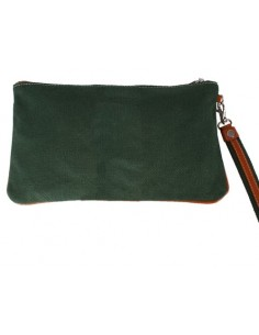 Spanish Flag Wristlet - Green
