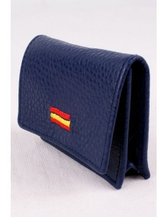 Blue Spain flag purse