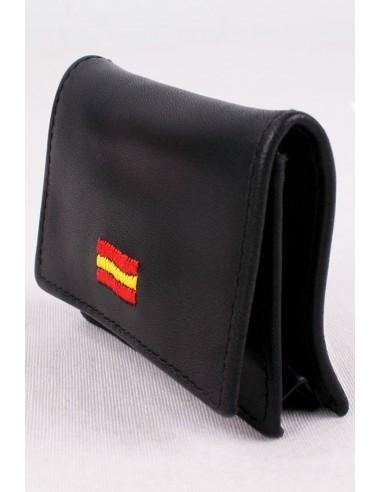 Black Spain flag purse