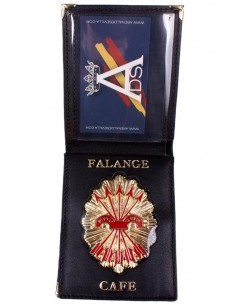 Spanish Falange Badge Wallet
