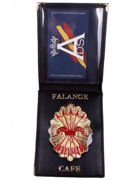 Falange's wallet C.A.F.E.
