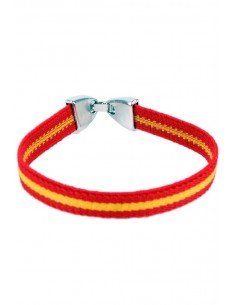 Elastic Bracelet with Spain Flag
