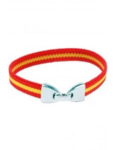 Elastic Bracelet with Spain Flag