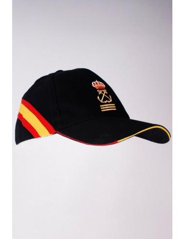 Gorra Capitán de  Yate  Bandera España