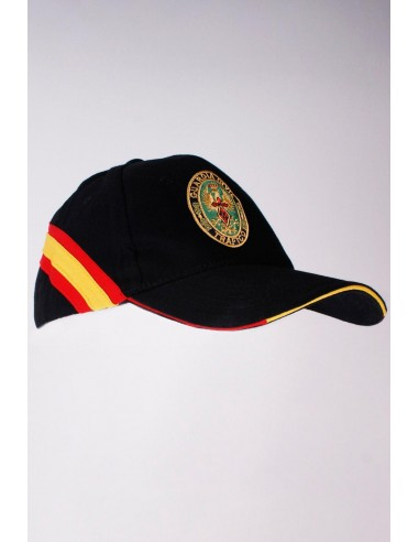 Spanish Traffic Civil Guard Cap - Navy Blue