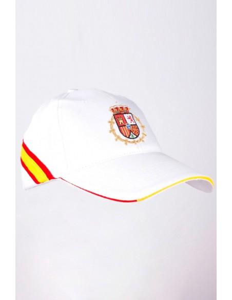 Gorra Felipe VI Blanca