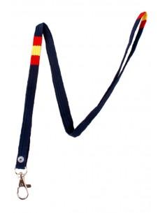Cordones para el Cuello de Colores Bandera España
