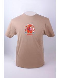 Camiseta con el Escudo de España Bordado