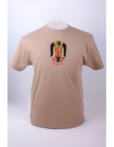 T-shirt with the shield of the Eagle of San Juan Embroidery