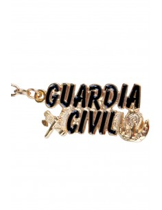 Spanish Civil Guard Legend Key Ring