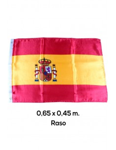 Spain Flag with Small Shield