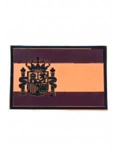Arid Rubber Spain Flag Patch