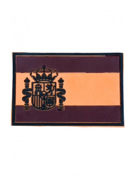 Arid Rubber Spain Flag Patch