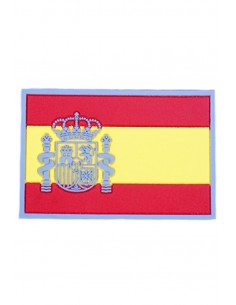 Rubber Spain Flag Patch