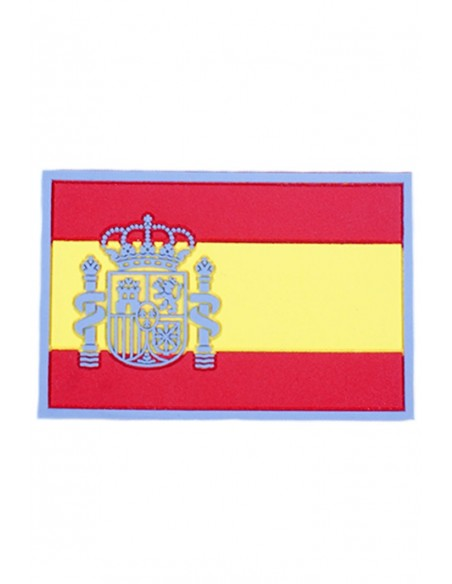 Rubber Spain Flag Patch