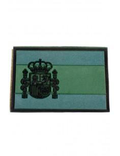 Parche Militar Bandera España Verde de Goma
