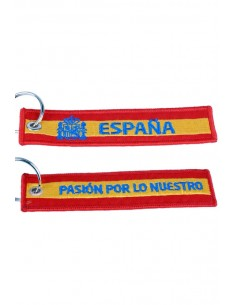 Embroidered Keychain Passion For Ours