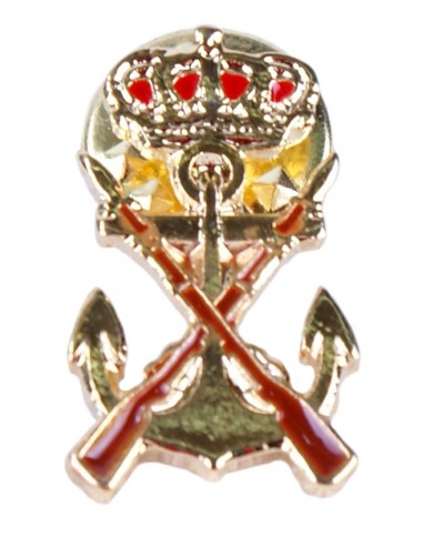 Pin with the Marine Corps Shield